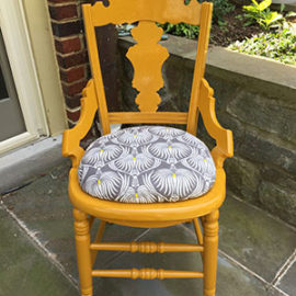 Pineapple Chair #1 done!
